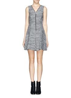 THEORY'Sayidres' bouclé dress