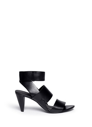 Main View - Click To Enlarge - Alexander Wang  - 'Katya' double band leather sandals
