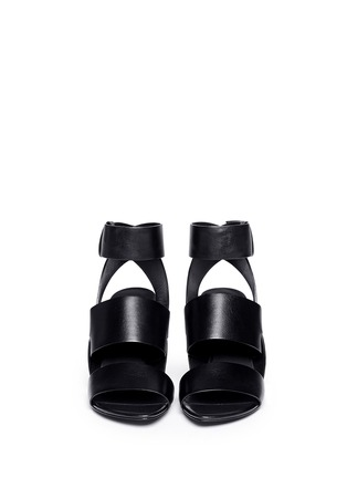 Figure View - Click To Enlarge - Alexander Wang  - 'Katya' double band leather sandals