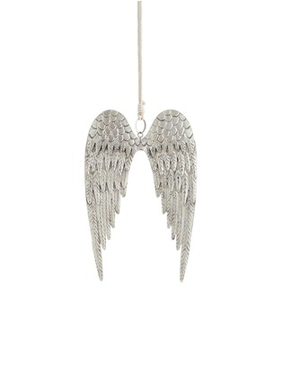 Main View - Click To Enlarge - Shishi As - Angel wing Christmas ornament - Metal