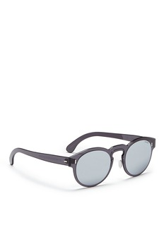 SUPER 'Duo-Lens Paloma' rimless all lens round mirror sunglasses