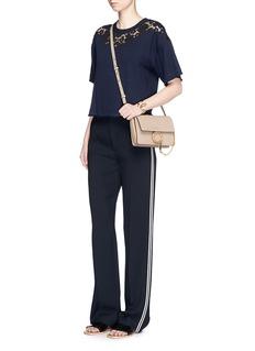 Chloé'Faye' small goatskin leather shoulder bag