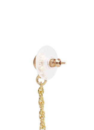 Detail View - Click To Enlarge - Kenneth Jay Lane - Gold plated sphere drop earrings