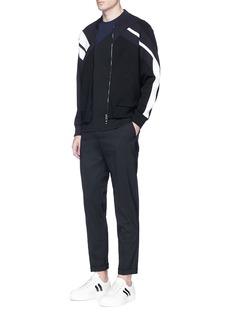 Neil Barrett'Retro Modernist' panel jacket