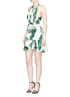 C/Meo Collective 'Witness' Pine Maui print crepe dress