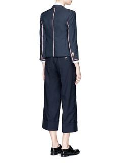 Thom BrowneWool low rise suiting culottes