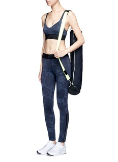 The Upside'Seals Dance' print sports bra top