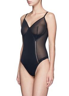 Spanx By Sara Blakely Haute Contour Nouveau' thong bodysuit