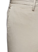 Regular fit stretch cotton chinos