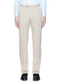 Canali Regular fit stretch cotton chinos