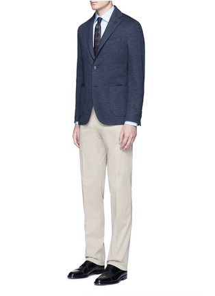 Figure View - Click To Enlarge - Canali - Cotton poplin dress shirt