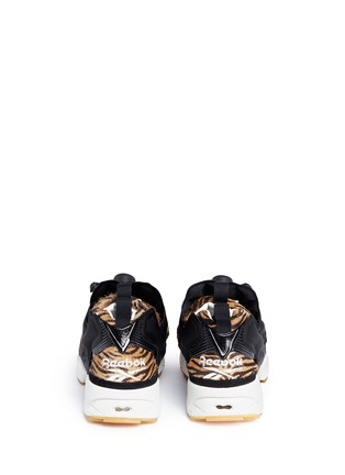 Back View - Click To Enlarge - Reebok - 'InstaPump Fury Jungle Book' slip-on sneakers