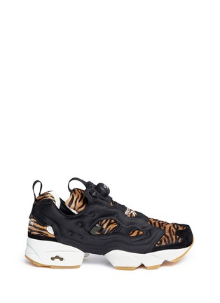 Main View - Click To Enlarge - Reebok - 'InstaPump Fury Jungle Book' slip-on sneakers