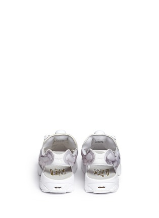 Back View - Click To Enlarge - Reebok - 'Instapump Fury' marble print sandals