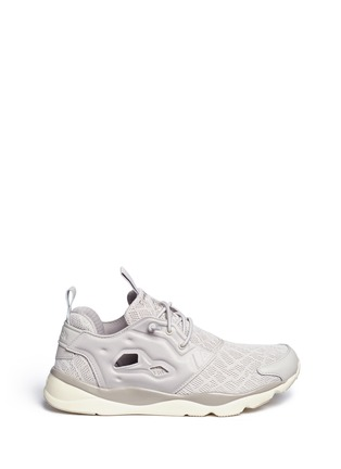 Main View - Click To Enlarge - Reebok - 'Furylite TM' tech mesh sneakers