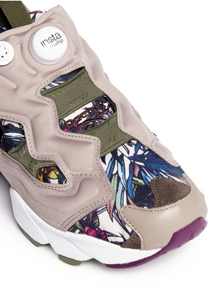 Detail View - Click To Enlarge - Reebok - 'Instapump Fury Seasonal Graphic Pack' sneakers