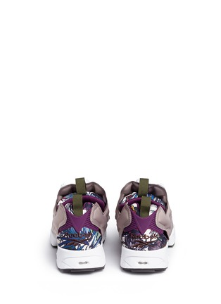 Back View - Click To Enlarge - Reebok - 'Instapump Fury Seasonal Graphic Pack' sneakers