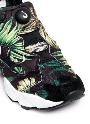 Detail View - Click To Enlarge - Reebok - 'Instapump Fury JG' leaf print sneakers