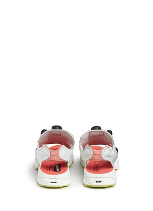 Back View - Click To Enlarge - Reebok - x FACE Stockholm 'Instapump Fury' sandals