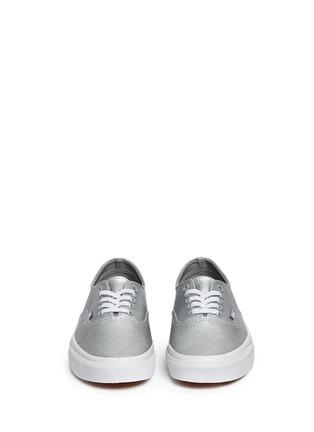 Vans-'Authentic Decon' unisex metallic leather sneakers