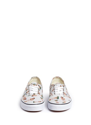 Front View - Click To Enlarge - Vans - 'Digi Hula Authentic' doll print canvas sneakers