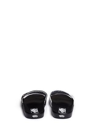 Vans-x SUMMER BUMMER 'Sum Bum' faux leather slide sandals