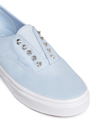 Vans - 'Studs Authentic Gore' canvas slip-ons