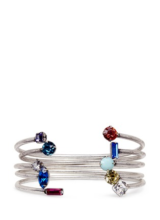 Main View - Click To Enlarge - Dannijo - 'Amista' Swarovski crystal cuff set