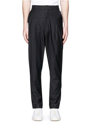 Main View - Click To Enlarge - FFIXXED STUDIOS - 'Double Familiarity' panel pants