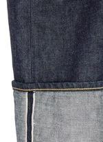 'Zuna' dark wash wide leg  jeans