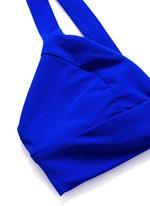 'Neutra' cutout triangle bralette top