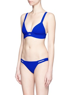 VITAMIN A'Neutra' cutout hipster bikini bottoms