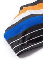 'Cozumel' variegated stripe tankini top