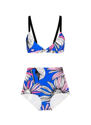 Main View - Click To Enlarge - Chictopia - Floral print bikini set