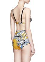 Floral print bikini set