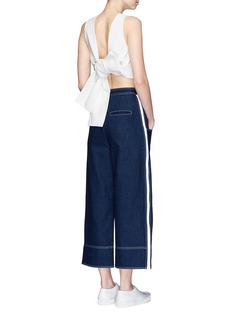 SHUSHU/TONGCropped wide leg jeans