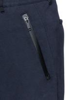 Zip cuff organic cotton sweatpants