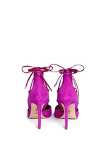 'Dayna' suede lace-up pumps