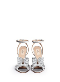 Valentino 'Angelicouture' angel wing velvet sandals