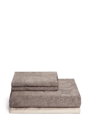 Main View - Click To Enlarge - Frette - Luxury Gotico king size duvet set