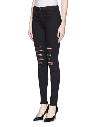 Front View - Click To Enlarge - J Brand - 'Photo Ready Maria' distressed skinny jeans