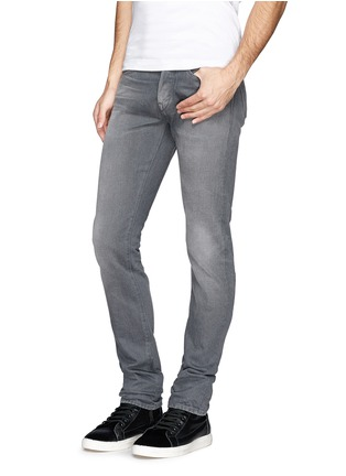 Figure View - Click To Enlarge - 3x1 - 'M3' selvedge slim fit jeans