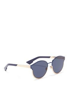 Dior'Dior Symmetric' round frame metal sunglasses