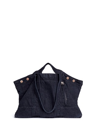 Main View - Click To Enlarge - 3.1 Phillip Lim - Denim field tote
