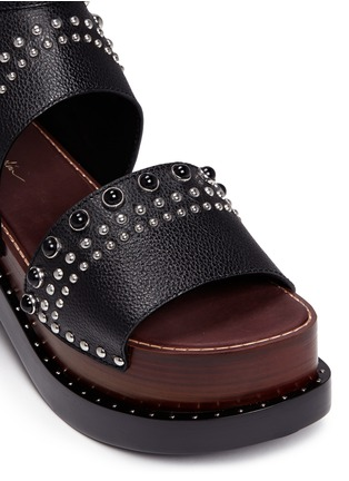 Detail View - Click To Enlarge - 3.1 Phillip Lim - 'Nashville' stud leather platform sandals