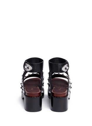 Back View - Click To Enlarge - 3.1 Phillip Lim - 'Nashville' stud leather platform sandals