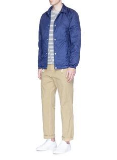 Comme Des Garçons ShirtWavy stripe cotton T-shirt