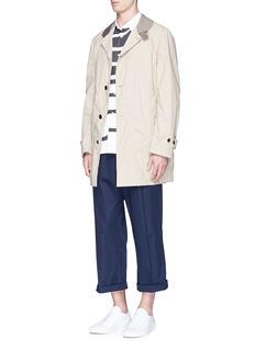 Comme Des Garçons ShirtWave patchwork poplin shirt