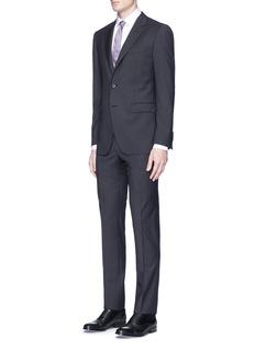 Lanvin'Attitude' stripe jacquard wool suit