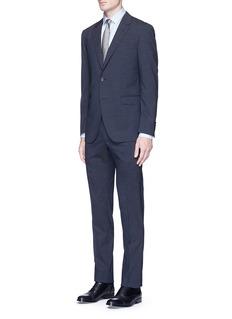 Lanvin'Attitude' textured wool suit